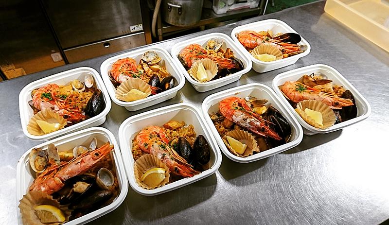 スペイン料理 アリオンダス